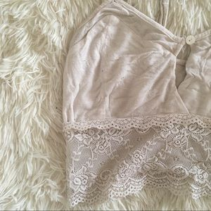 Altar'd State Intimates & Sleepwear - Altar'D State Lacy Bralette in White!